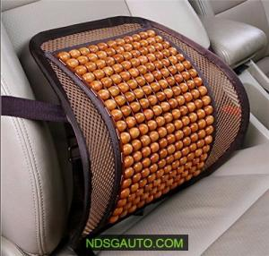 Đệm lót lưng gỗ cao cấp cho ô tô