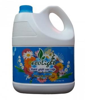 Nước giặt Ecolight đậm đặc 3.6L Hương comfort trắng