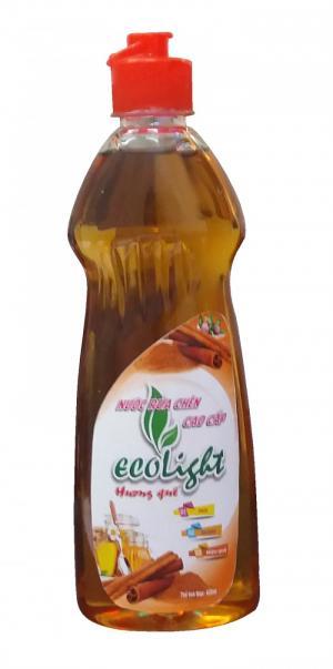 Nước rửa chén Ecolight hương quế 800ml