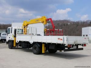 Xe tải gắn cẩu Hyundai HD120 5 tấn gắn cẩu Soosan SCS334 3t2, giao xe Toàn Quốc