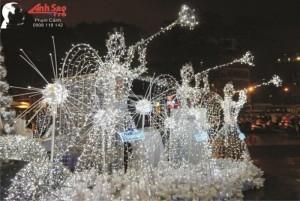 Nhận thiết kế, thi công mô hình trang trí Noel, Giáng Sinh, Tết