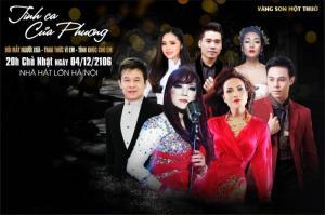 """Mua vé đêm nhạc """"Tình ca của Phương"""" ở đâu Hà Nội"""
