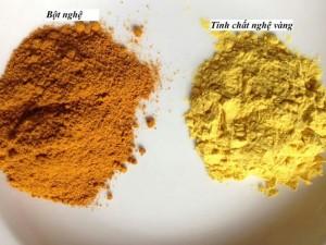 Tinh bột nghệ vàng nguyên chất