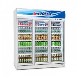 Tủ mát 3 cánh mở 1500 lít Alaska SL-16C3, dàn lạnh ống đồng