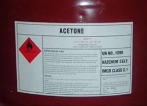 Acetone, C3H6O2, 2-propanone, Dimetthyl Ketone, dung môi tẩy rửa, nước rửa móng tay
