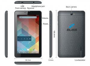 Máy tính bảng BLISS V7 gắn sim 3G chỉ 1.490.000