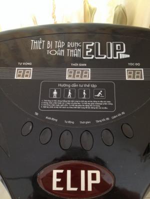 Máy tập rung massage toàn thân Elip
