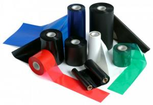 Ruy băng, Ribbon mực in (wax, resin, wax/resin)
