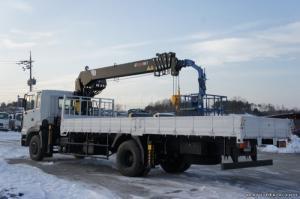 HD250 14 tấn thùng 8m2 tải gắn cẩu 8 tấn HIAB...