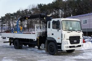 Bán xe tải Hyundai HD250 14 tấn gắn cẩu HIAB...
