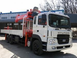 Xe tải Hyundai 12 tấn HD250 gắn cẩu Kanglim...