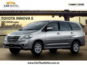 Đừng bao giờ thuê xe Toyota Innova nữa