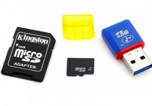 Thẻ Nhớ 8GB Kèm Adapter Và Đầu Đọc Thẻ