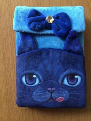 Túi nhung đựng điện thoại 3 ngăn