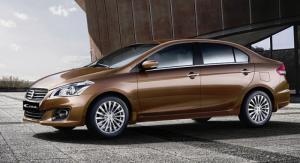 Hãng xe Nhật tại Thái Lan trình làng mẫu sedan mới, Suzuki Ciaz 2016, sử dụng động cơ 1,4 lít công suất 96 mã lực. Theo Suzuki, Suzuki Ciaz 2016 phát triển dành riêng cho thị trường Đông Nam Á và ở Mỹ La tinh, sẽ thay thế mẫu SX4. Mẫu sedan mới của Suzuki có thiết kế đèn pha lớn, lưới tản nhiệt mạ crôm, hốc hút gió dưới lớn tích hợp đèn sương mù. Hai bên thân xe nổi bật với đường gờ kết hợp vành hợp kim 16 inch thiết kế thể thao