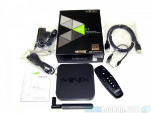 Android TV Box Minix Neo U1 + Neo A2 Lite remote