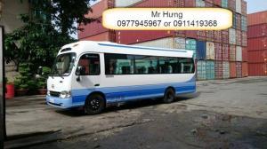 Chuyên bán Hyundai County 29 ghế thân dài Model 2017