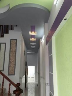 Nhà mới 100 % Vị trí đẹp tiện lợi cho dễ ở: DT 4.5m x 15m = 67.5m2