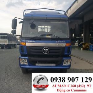 Xe tải Auman C160 tải trọng 9 tấn, động cơ Cummins