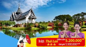 Tour Thái Lan giá hấp dẫn