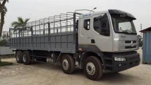 Xe tải Chenlong 4 chân thùng dài 9m6