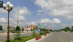 Đất nền KDC Trung Tâm HC Chơn Thành. shr. mt đường 46m. 2tr/m2