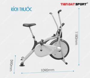 Xe đạp tập thể dục Air Bike GIÁ SIÊU RẺ