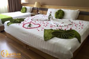 Chăn ga khách sạn