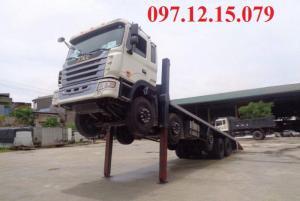 xe tải 5 chân nâng đầu jac, giá rẻ công nghệ hd,bảo hành 3 năm hoặc 100.000 Km