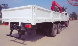 Xe tải gắn cẩu unic 5 tấn | hino FL8JTSA - URV555