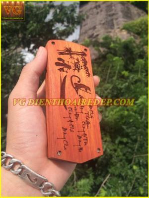 Vỏ gỗ điện thoại rẻ đẹp