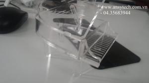Quà lưu niệm bằng mica, biểu trưng quà tặng bằng mica, gia công thiết kế mica theo yêu cầu