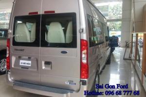 Mẫu xe chở khách cở nhỏ thông dụng trên các cung đường Việt Nam | Xe Ford Transit 2016 (Bản cao cấp) - Lựa chọn xe 16 chổ tốt nhất | Trung Hải - 096 68 777 68 (24/24) sẵn sàng tư vấn mua xe 16 chỗ Ford Transits ngay cho bạn