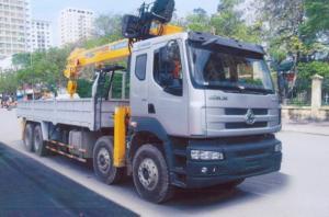 Chenglong gắn cẩu 10 tấn soosan