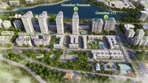 Vietcombank bảo lãnh, GreenBayPremim căn hộ nghỉ dưỡng home-tel cao cấp(2PN-3PN)