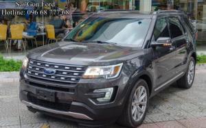 Xe Ford Explorer 2018 mạnh mẽ, xe thương hiệu Mỹ nhập khẩu, nhận tư vấn và báo giá, cập nhật các chương trình khuyến mãi, ưu đãi mua xe từ đại lý chính hãng Sài Gòn Ford khi Liên hệ Trung Hải - 0966877768 (24/24) để nhận tư vấn tận tâm nhất