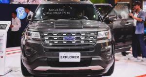 Khuyến mãi Ford Explorer 2017, trả trước 436 triệu, giao xe ngay, lãi suất vay cực thấp