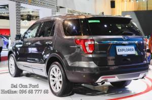 Xe Ford Explorer 2018 cho năm mới nhiều hứng khởi | Khuyến mãi Ford Explorer 2018, trả trước 436 triệu, giao xe ngay, lãi suất vay cực thấp