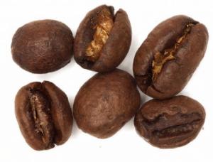 Hạt cà phê Culi có hình dạng tròn như hạt đậu.  Trong khi Hạt cà phê Arabica, hạt cà phê Robusta dẹp. (không đột biến)