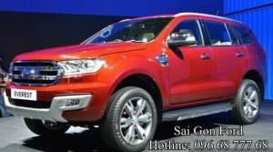 Nhận đặt hàng Ford Everest Titanium 2.2L, số tự động, phiên bản hoàn toàn mới, giá tốt, hỗ trợ trả góp lãi suất thấp