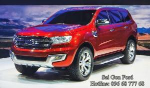 Nhận đặt hàng Ford Everest Trend 2018, phiên bản hoàn toàn mới