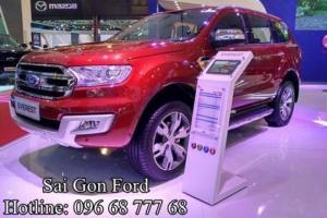 Ford Everest 3.2L Titanium, số tự động, giao xe nhanh, hỗ trợ trả góp lãi suất thấp