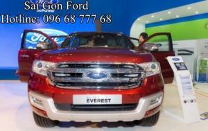 Cần bán Ford Everest 3.2L Titanium, số tự động, giao xe nhanh, hỗ trợ trả góp lãi suất thấp