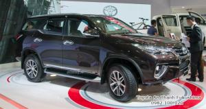Nhận Đặt Hàng Mua Toyota Fortuner 2017 Mẫu Mới Nhập Khẩu Màu Nâu Giao Tháng 03/2017 Tại HCM