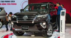 Đại lý Toyota HCM 100% vốn Nhật nhận đặt hàng xe Fortuner 2017 phiên bản mới nhất, gọi đến 0982 100 120 để được tư vấn cách đặt hàng xe