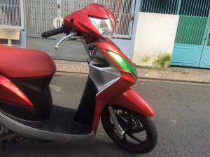 Honda Vision FI 2k13,tem nổi, đỏ - đen,zin 99,99%