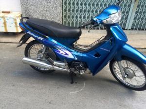 Honda Wave (A) alpha LD 2003, 110cc,màu xanh