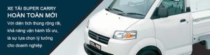 Suzuki pro 740kg/ Đại lý xe tải suzuki Sóc Trăng/ Đại lý xe tải suzuki Bạc Liêu.