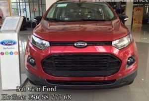 Xe Ford Ecosport 2017 mạnh mẽ, xe thương hiệu Mỹ nhập khẩu, nhận tư vấn và báo giá, cập nhật các chương trình khuyến mãi, ưu đãi mua xe từ đại lý chính hãng Sài Gòn Ford khi Liên hệ Trung Hải - 096 68 777 68 (24/24) để nhận tư vấn tận tâm nhất