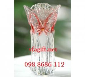 Làm bình hoa quà tặng,bán bình hoa in logo quà tặng